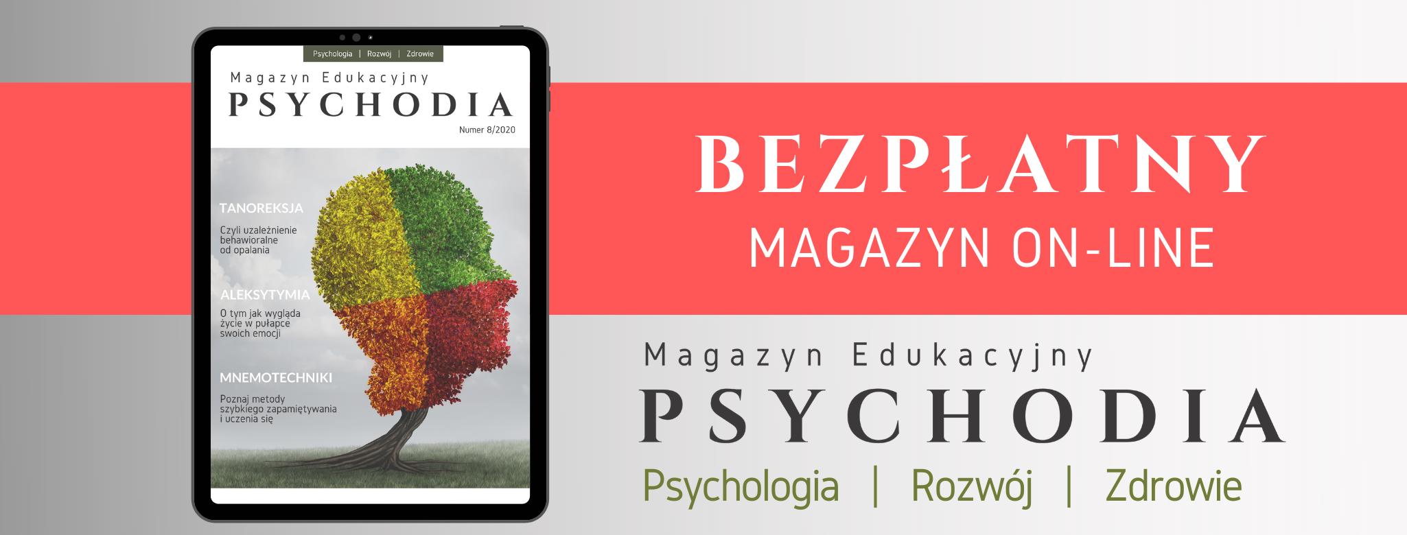 """Magazyn edukacyjny """"PSYCHODIA"""""""
